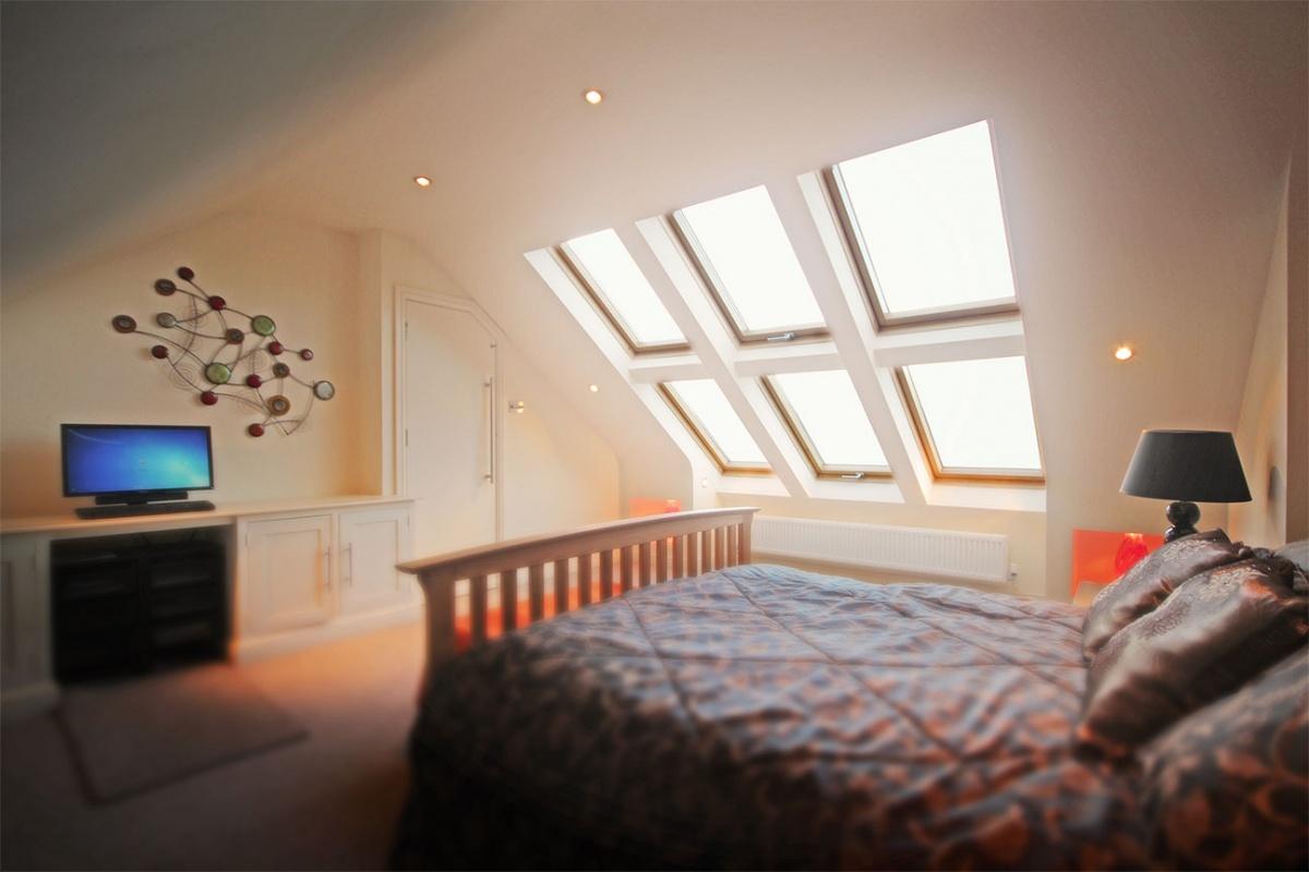 Velux window in a loft conversion